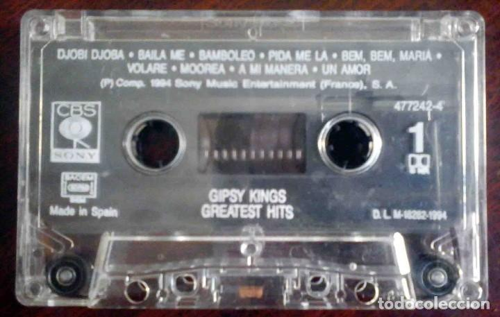 Casetes antiguos: Gipsy Kings - Greatest Hits - Foto 3 - 235831130
