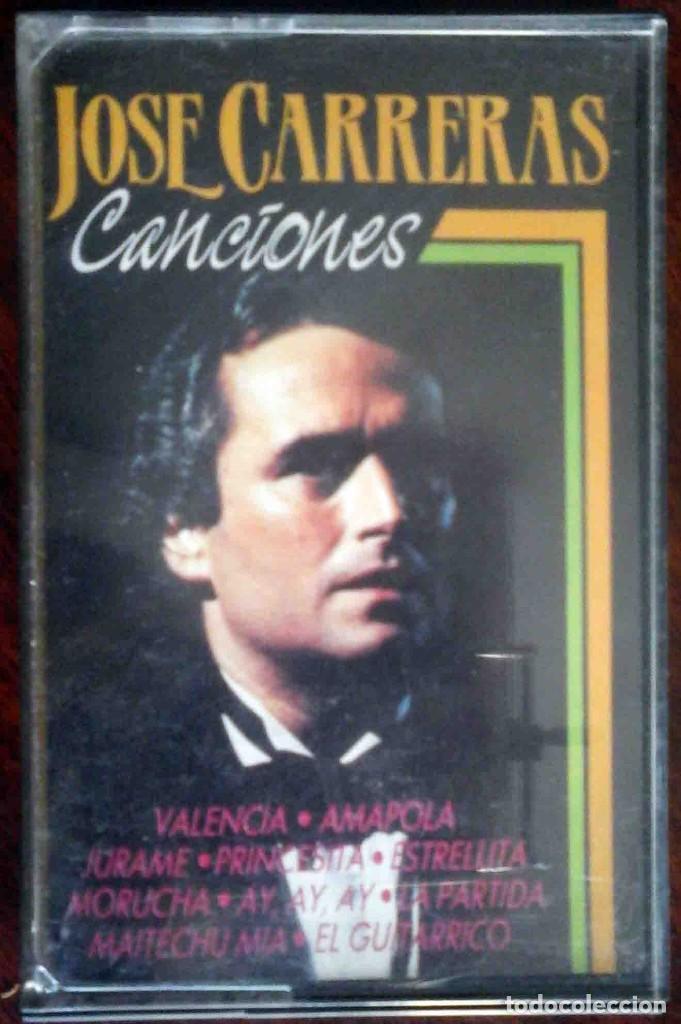 JOSÉ CARRERAS - CANCIONES (Música - Casetes)