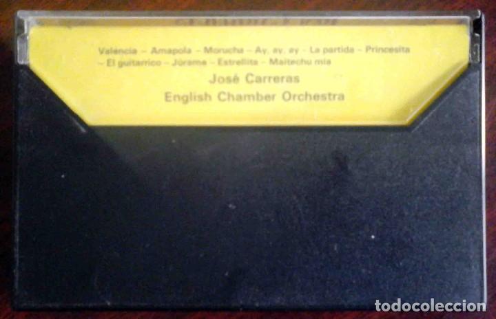 Casetes antiguos: José Carreras - Canciones - Foto 2 - 235833000