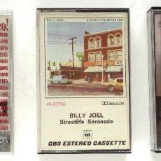 Cassetes antigas: LOTE 3 CASSETTES: BRUCE SPRINGSTEEN, BILLY JOEL, SERRAT ERES ÚNICO. Lote 236223900