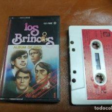 Casetes antiguos: LOS BRINCOS ALBUM DE ORO 1 - CASSETTE ZAFIRO 1981 SPAIN. Lote 236392950