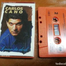 Casetes antiguos: CASETE COPLA FLAMENCO. CARLOS CANO LUNA DE ABRIL 1988. Lote 236396565