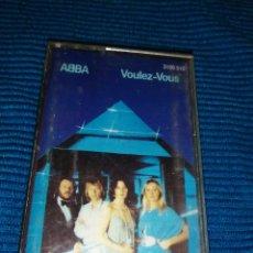 Casetes antiguos: ABBA, VOULEZ VOUS, CINTA DE CASETE. Lote 236528985