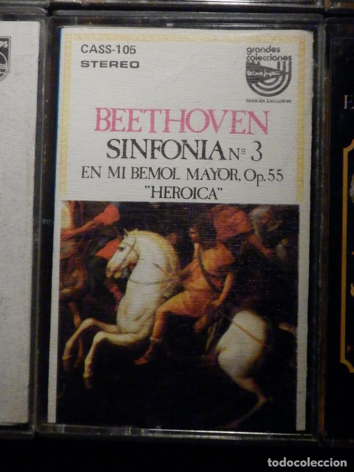 Casetes antiguos: Lote 10 cintas de Cassette - Música Clasica - Ver fotos - Foto 2 - 237025400