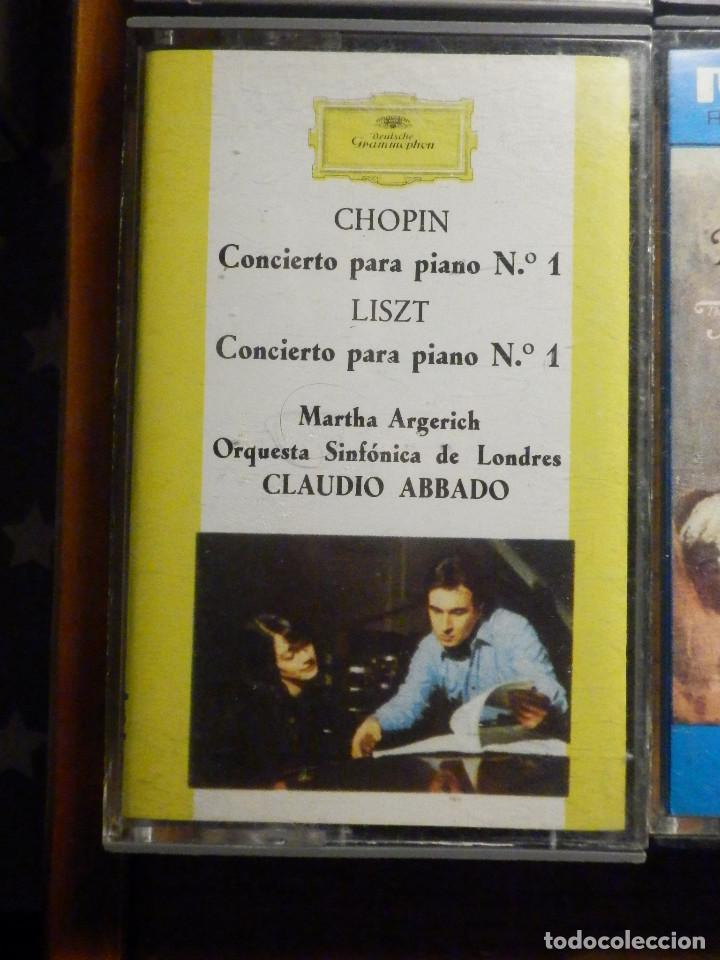 Casetes antiguos: Lote 10 cintas de Cassette - Música Clasica - Ver fotos - Foto 5 - 237025400