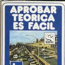 Casetes antiguos: APROBAR TEORICA ES FACIL - TOMO 2. Lote 237411940