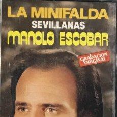 Casetes antiguos: MANOLO ESCOBAR - LA MINIFALDA. Lote 237412025