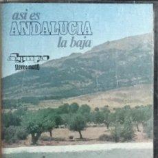 Casetes antiguos: CANALEJAS DE PUERTO REAL - ASI ES ANDALUCIA LA BAJA. Lote 237412070