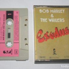 Cassetes antigas: BOB MARLEY & THE WAILERS: EXODUS * CASETE MÚSICA INTERNACIONAL * ISLAND. Lote 237538750