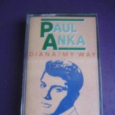 Cassetes antigas: PAUL ANKA - CASETE PRECINTADA - 12 EXITOS ROCK N ROLL POP 60'S. Lote 238187180
