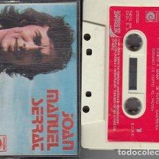Cassetes antigas: JOAN MANUEL SERRAT - SONETO A MAMA - CINTA DE CASETE #. Lote 240272785