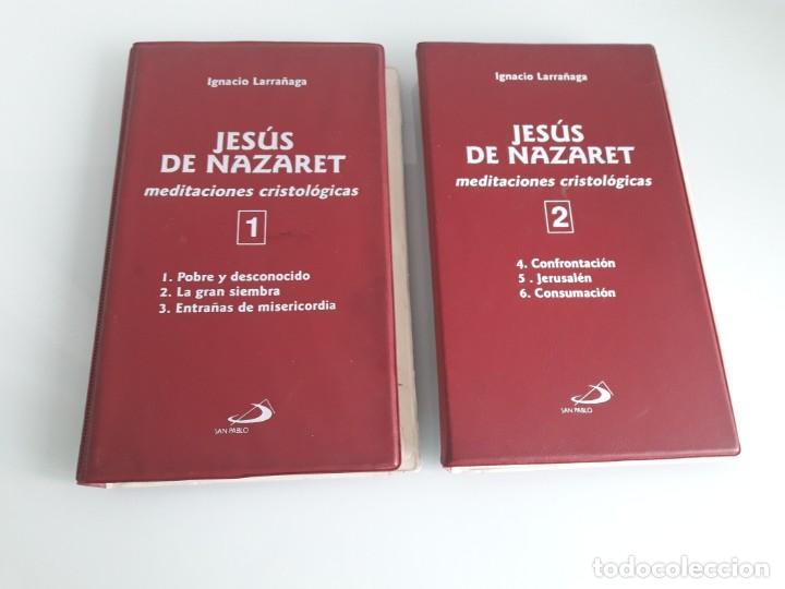 JESÚS DE NAZARET - MEDITACIONES CRISTOLÓGICAS - IGNACIO LARRAÑAGA - 2 ESTUCHES - 6 CASSETTES - 1996 (Música - Casetes)
