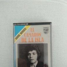 Cassettes Anciennes: CAMARÓN DE LA ISLA. CASSETTE. SONIC SERIES. Lote 242478940