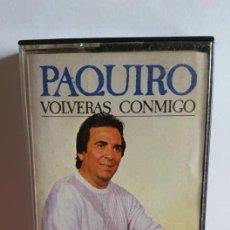 """Casetes antiguos: CASETTE DE """" EL PAQUIRO """" / VOLVERAS CONMIGO / EDITADO POR DISCOS MERCURIO - 1987.. Lote 235277140"""