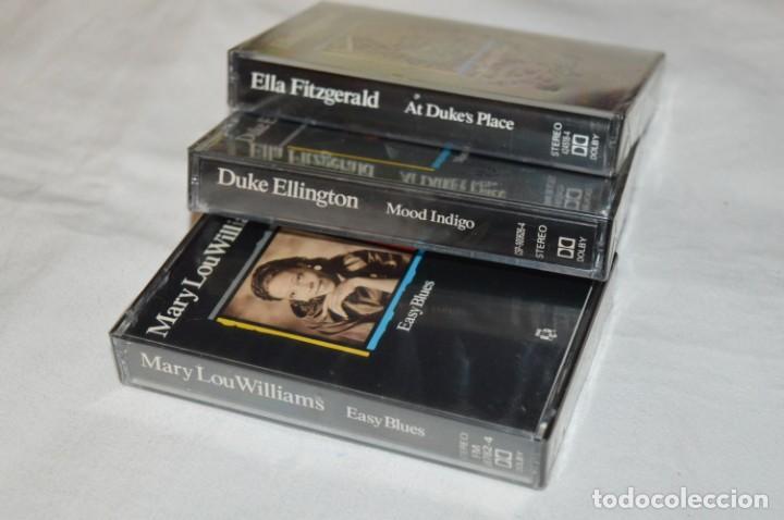 Casetes antiguos: 3 casetes DUKE ELLINGTON / ELLA FITZGERALD y MARY LOU WILLIAMS - Perfectos y precintados, NOS ¡Mira! - Foto 4 - 243475200