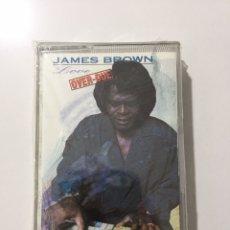 Casetes antiguos: CASSETTE JAMES BROWN - LOVE OVER-DUE - PRECINTADO DE FÁBRICA! SEALED OF FACTORY!! NUEVO! NEW!. Lote 244654165