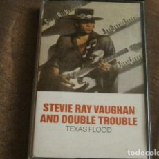 Casetes antiguos: STEVIE RAY VAUGHAN AND DOUBLE TROUBLE - TEXAS FLOOD. Lote 244767750