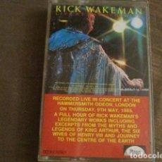 Casetes antiguos: RICK WAKEMAN - LIVE AT HAMMERSMITH 09-05-85. Lote 244769905