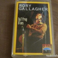 Casetes antiguos: RORY GALLAGHER - BULLFROG BLUES. Lote 244770025