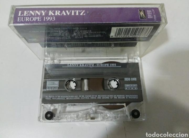 Casetes antiguos: Lenny Kravitz - Europe 1993. Cassette. Muy raro! - Foto 2 - 244778110