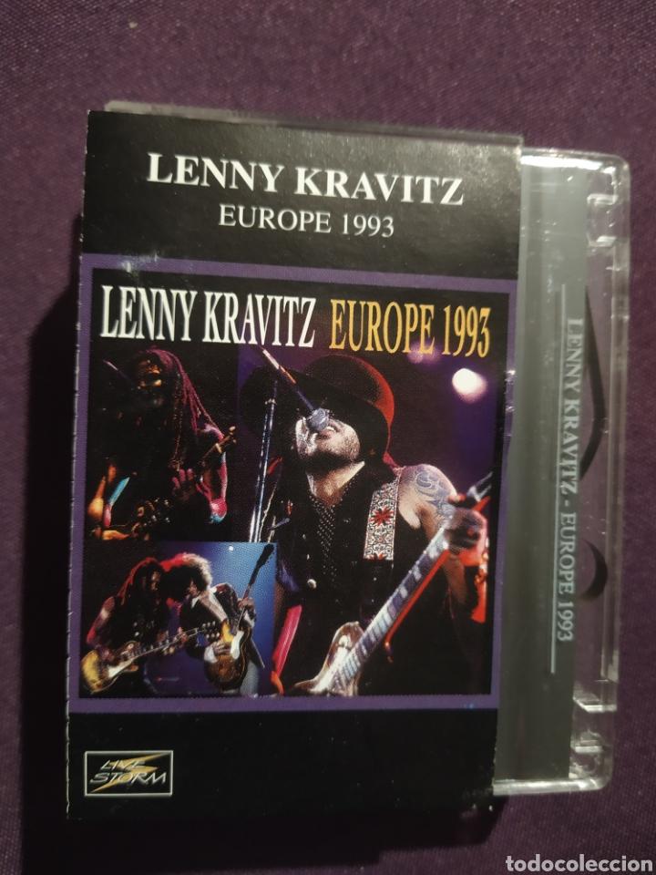 LENNY KRAVITZ - EUROPE 1993. CASSETTE. MUY RARO! (Música - Casetes)