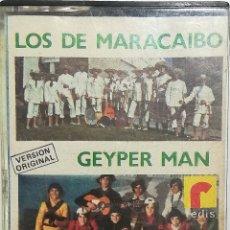 Cassetes antigas: LOS DE MARACAIBO - GEYPER MAN (CARNAVAL 1978). Lote 244884605