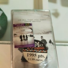 Cassettes Anciennes: U2 CASETE ALL THAT YOU CAN'T LEAVE BEHIND PRECINTADA. Lote 244928945