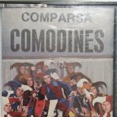 Casetes antiguos: COMPARSA COMODINES (CARNAVAL 1983). Lote 244940670