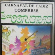 Casetes antiguos: COMPARSA LOS CORISTAS (CARNAVAL 1989). Lote 244941480