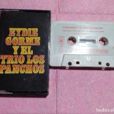 Casetes antiguos: CASSETTE EYDIE GORME Y EL TRIO LOS PANCHOS - CBS 40-32250 - SPAIN (VG+/VG+). Lote 245065295