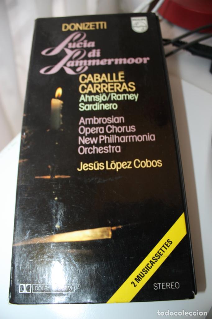 LUCIA DI LAMMERMOOR CABALLE, CARRERAS (Música - Casetes)