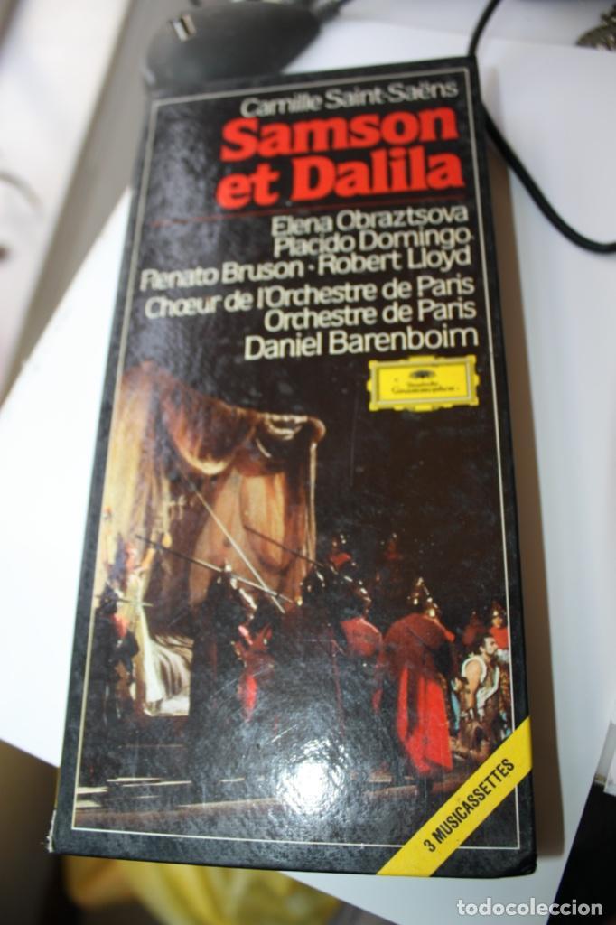 SAMSON ET DALILA (Música - Casetes)