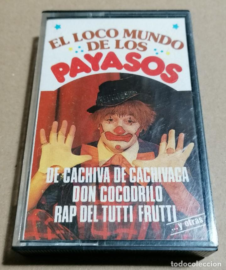 CASSETTE: EL LOCO MUNDO DE LOS PAYASOS · CARDISC, 1982 (Música - Casetes)