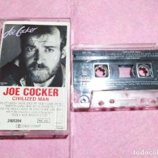 Casetes antiguos: CASSETTE JOE COCKER ‎– CIVILIZED MAN - CAPITOL ‎2401394 PM 410 - (VG++/VG++). Lote 245452780