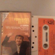 Casetes antiguos: FERNANDO ESTESO. Lote 245463170