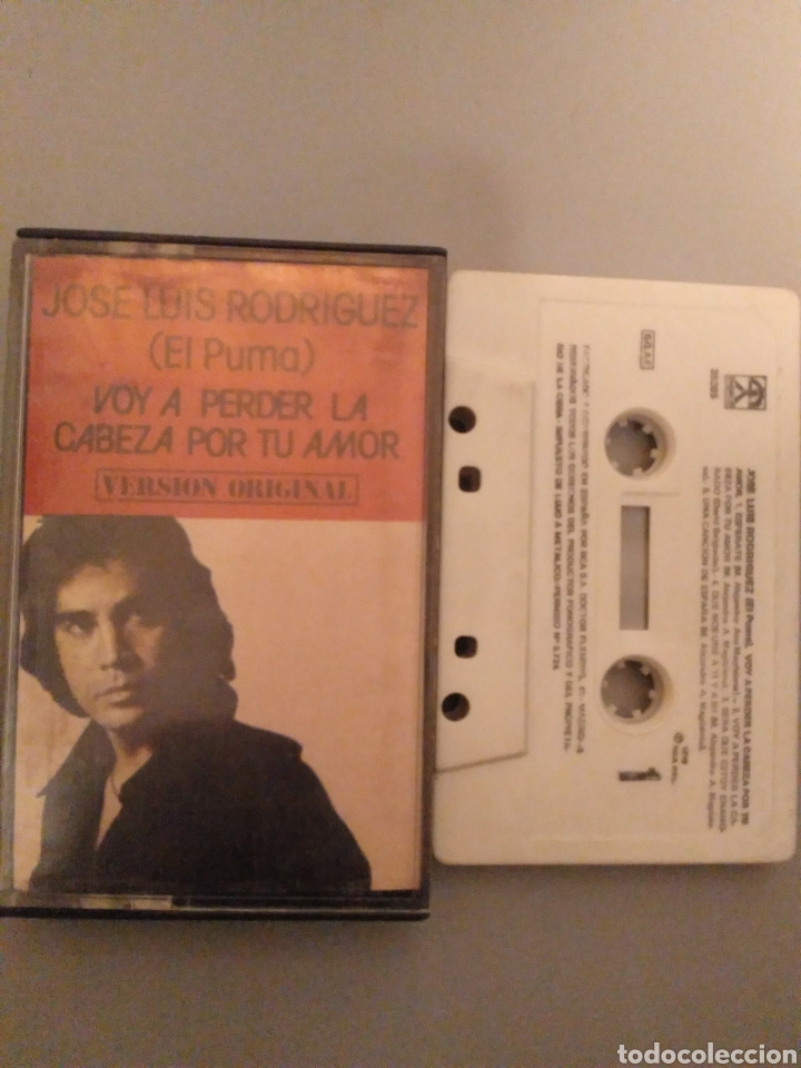 JOSÉ LUIS RODRÍGUEZ (Música - Casetes)