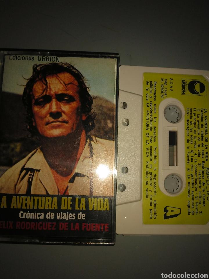 FÉLIX RODRÍGUEZ DE LA FUENTE (Música - Casetes)