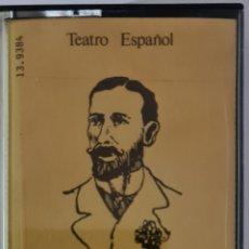 Casetes antiguos: CASETE TEATRO ESPAÑOL. LA SEÑORITA DE TREVELEZ.. Lote 245477155
