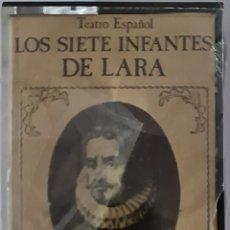Casetes antiguos: CASETE TEATRO ESPAÑOL. LOS SIETE INFANTES DE LARA.. Lote 245477390