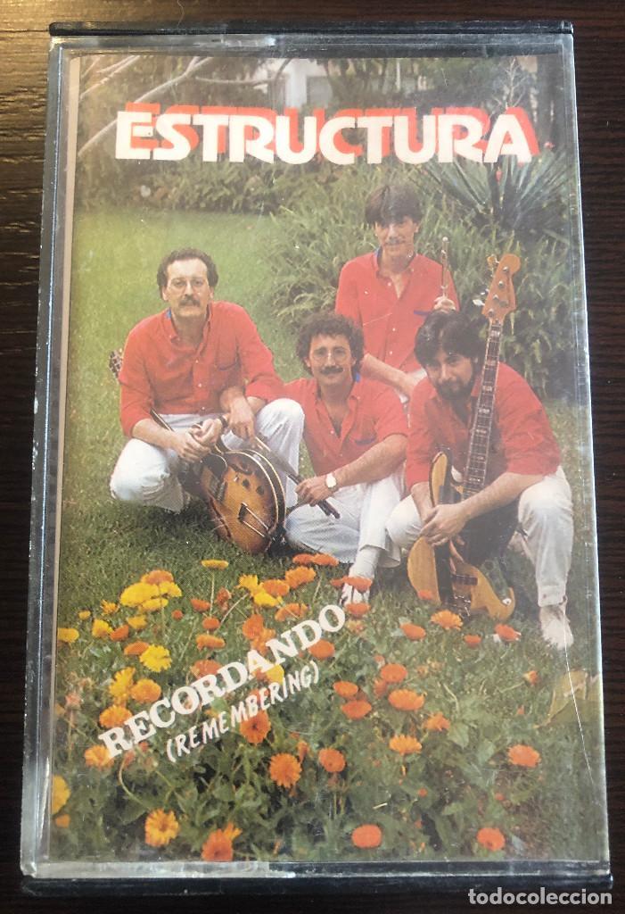 'RECORDANDO (REMEMBERING)', DE ESTRUCTURA. MÚSICA FOLK. FONODIS. 1984. BUEN ESTADO. (Música - Casetes)