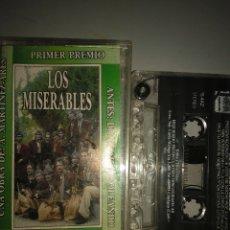 Casetes antiguos: LOS MISERABLES. Lote 245482900