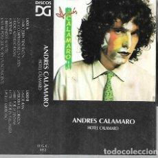 Cassette antiche: ANDRES CALAMARO ALBUM HOTEL CALAMARO SELLO DG CASSETTE. Lote 245791755