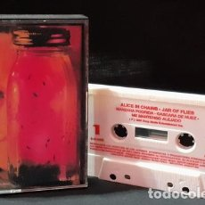 Cassette antiche: CASSETTE ALICE IN CHAINS JAR OF FLIES JERRY CANTRELL. Lote 245797980