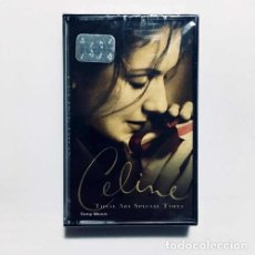 Casetes antiguos: CELINE DION THESE ARE SPECIAL TIMES CASSETTE NUEVO SELLADO. Lote 245801365