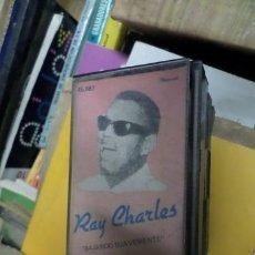 Casetes antiguos: RAY CHARLES BAJANDO SUAVEMENTE CASSETTE. Lote 245801965