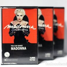 Casetes antiguos: CASSETTE MADONNA YOU CAN DANCE 1987 ED NACIONAL. Lote 245803800