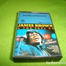 Casetes antiguos: JAMES BROWN LIVE AT CHASTAIN PARK CASSETTE IND BRASIL. Lote 245804710