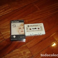 Casetes antiguos: MADONNA WHO S THAT GIRL CASSETTE ESPANA TAPE SPAIN POP. Lote 245805675