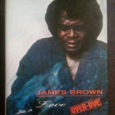 Casetes antiguos: JAMES BROWN LOVE OVER DUE SOUL CASSETTE. Lote 245810620