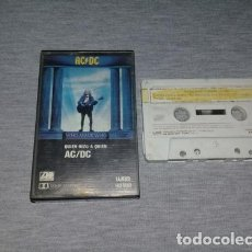 Casetes antiguos: ACDC CASSETTE. Lote 245815150